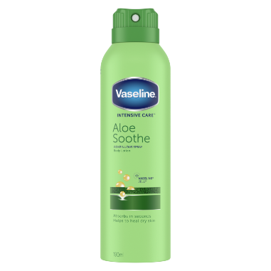 Vaseline Aloe Soothe Bodylotion Spray