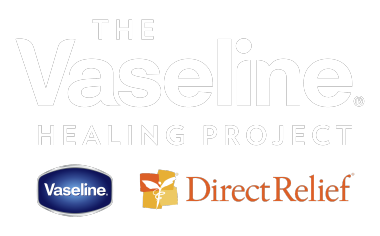 Vaseline Healing  Power Logo